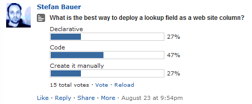 SPYam Poll for creating lookups