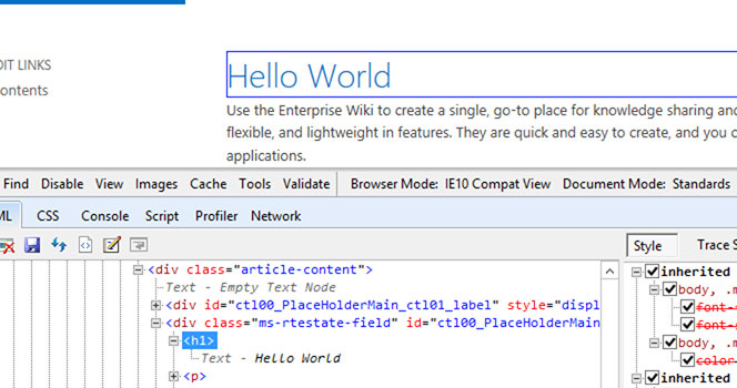 SharePoint 2013 - Rich Text Editor format and Source Code
